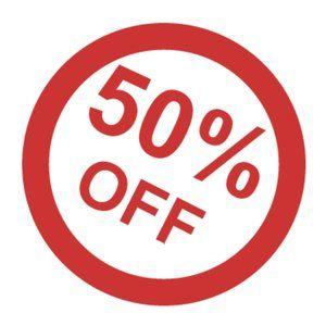 Fall Sale! Everything 50% off!!